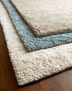 Shag Rug at Horchow. 8' round - sale $2,799 (reg. $6,469). New Zealand wool.