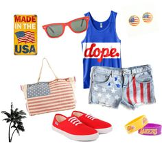 Love this site! & this Fourth of July outfit!
