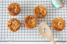 Maar daar heb ik nu een oplossing voor; ontbijtmuffins! Hoe makkelijk is dat, en muffins in de ochtend vind ik altijd een goed idee!