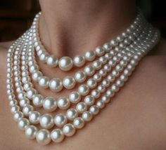 Pearl necklace bead