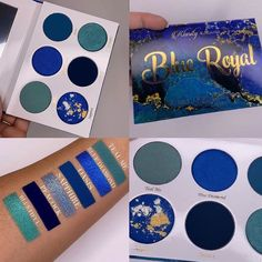 Image shared by Masha. Find images and videos about fashion, style and beauty on We Heart It - the app to get lost in what you love. Pot Lights, Makeup Obsession, Eyeshadow Palette, Hair Makeup, Teal, Cosmetics, Shadows, Beauty, Blues