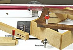 The router table may be your most versatile tool, and here's proof: three useful and easy-to-set-up joints made with inexpensive bits. Wood Magazine, Router Table, Router Woodworking, Router Bits, Joinery, Tools, Storage, Workshop, Easy