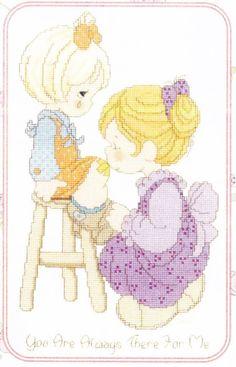 precious moments cross stitch pinterest - Pesquisa do Google