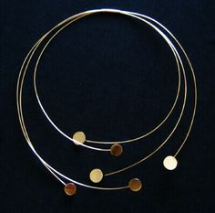 Betty Cooke 14kt yellow gold necklace