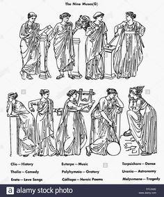 nine-muses-nthe-nine-muses-of-greek-mythology-top-row-clio-muse-of-FFCXWE.jpg (1158×1390)