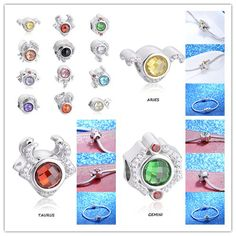 20Pcs Charms Crystal Teardrop Spacer Pendant Loose Beads 6x12mm Color Collect#G