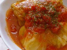 *トマトで煮込んだロールキャベツ*の画像