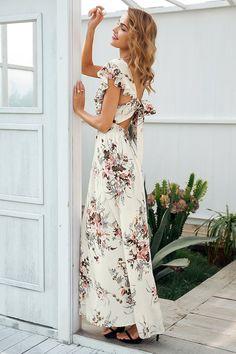 Women's Clothing Have An Inquiring Mind Beavant Bohemian Sexy Halter Women Summer Dresses Floral Print Boho Maxi Dress Female Vestidos Holiday Beach Backless Long Dress