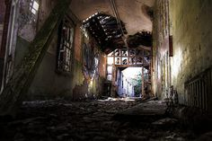 Trashed Asylum Hellingly Mental Hospital