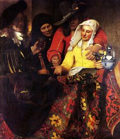 Jan Vermeer - L'entremetteuse