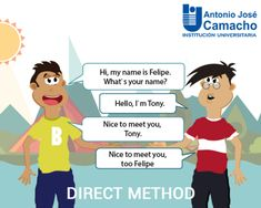Image result for direct method Nice To Meet, Meet You, Direct Method, What Is Your Name, Family Guy, Names, Image, Fictional Characters, Pictures