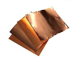 Copper Sheet Thickness Guide--Great Reference includes videos of the various thicknesses or gauges - Lastre di rame: differenti spessori Copper Uses, Copper Work, Copper Metal, Jewelry Tools, Copper Jewelry, Jewelry Making, Jewlery, Jewelry Ideas, Jewellery Supplies