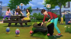 The Sims - Basements, Bunny Eggs, and Painting Upgrades Added in Free Update - Official Site