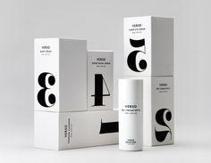 Verso Skincare Packaging #design #packagingdesign #packaging