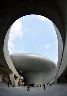 Las obras de Zaha Hadid. El Dongdaemun Design Plaza en Seul. - AD España, © Cordon Press www.revistaad.es