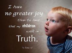 no greater joy. . .