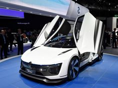 "The ""People's Car"" company also showed of its Golf GTE sports concept.  2015 Frankfurt Motor Show..."