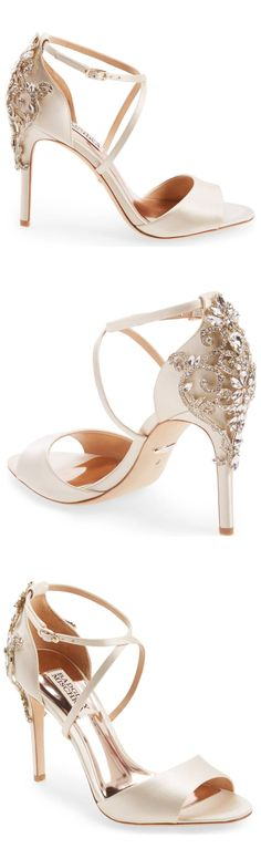 c40d4cd26197 Badgley Mischka Karmen Crystal Back Sandal (Women)