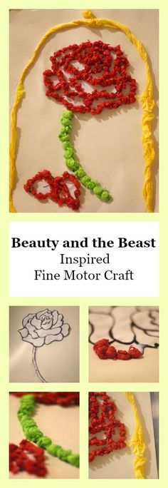 We are so excited about Beauty and the Beast coming out. I decided this week it would be fun to work on a fine motor skills craft in honor of the release of the new live-action movie. This craft is both simple and fun for little hands to work on their fine motor skills. Even …