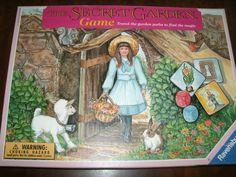 Ravensburger The Secret Garden Game //  Vintage 1990s Children's Game // Etsy // LoveVintageAlways