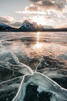 """banshy: """" Abraham Lake by: Stevin Tuchiwsky """""""