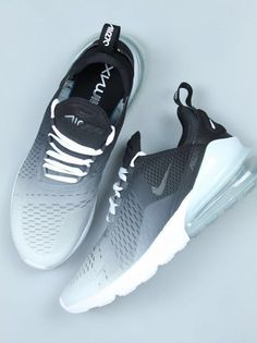 Explore our custom Nike Air Max 270 sneakers in this black ombre design. If you … Explore our custom Nike Air Max 270 sneakers in this black ombre design. If you love the 2018 Nike Air Max 270 then these Custom Nike shoes are perfect for you. Prom Shoes, Women's Shoes, Shoe Boots, Shoes Sport, Shoes 2016, Fall Shoes, Spring Shoes, Winter Shoes, Platform Shoes
