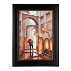 Couple in Archway Framed Art Print | Kirklands