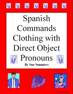 spanish direct and indirect object pronoun worksheet pronoun worksheets worksheets and spanish. Black Bedroom Furniture Sets. Home Design Ideas