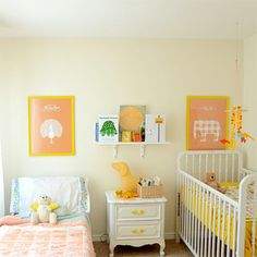 Toddler and baby room. Since Delaney and the new baby will share one