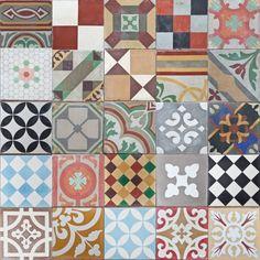 Montage http://www.jatanainteriors.com.au/antique-tiles/