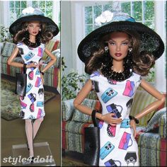 style4doll outfit for Silkstone Fashion Royalty FR2 by style4doll, $45.00