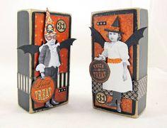 Batty Boo Blocks for Halloween