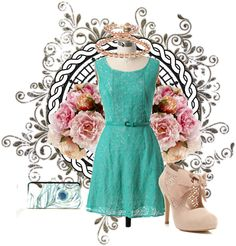 """""""Garden Party"""" by laurenjolly on Polyvore"""