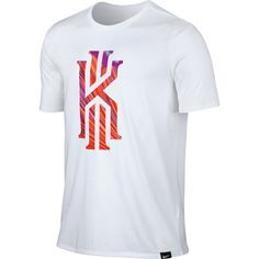 NBA Nike Cleveland Cavaliers White Kyrie Irving 2 T-Shirt