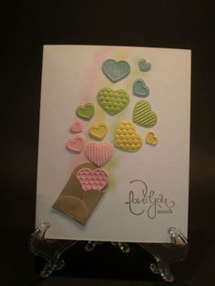 Valentine CAS Double Petal Fashionable Hearts SUO by Chris Ice - Cards and Paper Crafts at Splitcoaststampers