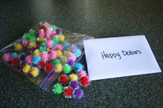Fuzzy Balls and Happy Dollars... I think I might do this one.