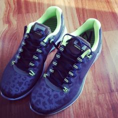 Leopard and lime Nikes!! Perfection! Neon Nikes b2e6b92d6