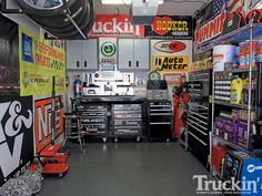 If I was in to working on cars, this is a cool shop