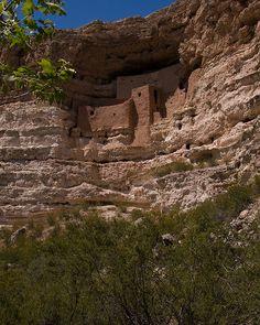 Montezuma's Castle National Monument in Arizona