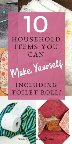 10 household items you can make yourself - including toilet paper! - Zero Waste Lifestyle - You can make your own reusable versions of bathroom and kitchen products that you normally purchase - Fabric Remnants, Fabric Scraps, Scrap Fabric, Extra Fabric, Bee Fabric, Beeswax Food Wrap, Good Tutorials, Washing Clothes, Household Items