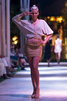 Modeshow op Ibiza