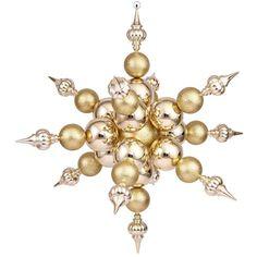 3.3' N115208 Radical Snowflake - Gold