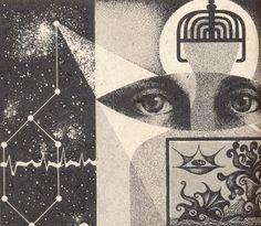 NIKOLAI LUTOHIN, SCI-FI ILLUSTRATIONS FROM 70′S YUGOSLAVIA