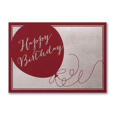 Birthday Time Again - Birthday Card