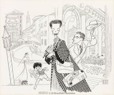 "Katherine Hepburn, Rossano Brazzi, and Gaetano Autiero in David Lean's ""SUMMERTIME"", (1955)."