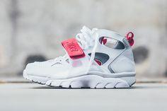 5ec437060720a2 Nike Air Trainer Huarache (White University Red) - Sneaker Freaker