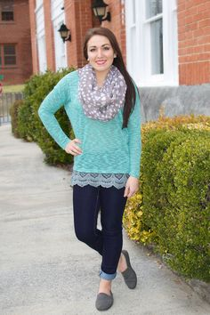 Thinking Out Loud Top at Juliana's Boutique- shopjulianas.com get 10% off with the code emilyj