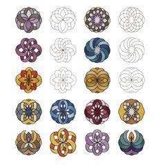 celtic garden design | Inspira CD Celtic Art Machine Embroidery Designs