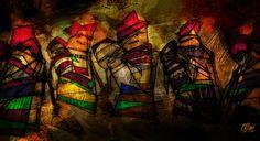 """""""Los hijos de los días"""" - Galeano ilustrado por Casciani 6/4 . acá podés leer el textohttp://andrescasciani.blogspot.com.ar/2016/04/los-hijos-de-los-dias-galeano-ilustrado_7.html"""