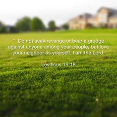 Leviticus 19:18